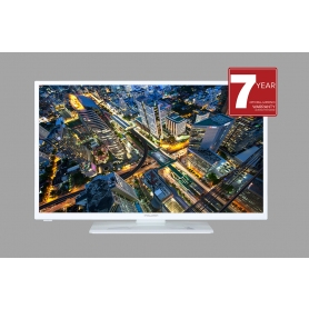 "Mitchell & Brown 24"" White TV"