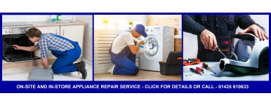 New Milton Appliance Television Vacuum Cleaner Repairs