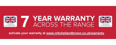 Mitchell & Brown 7 Year Warranty
